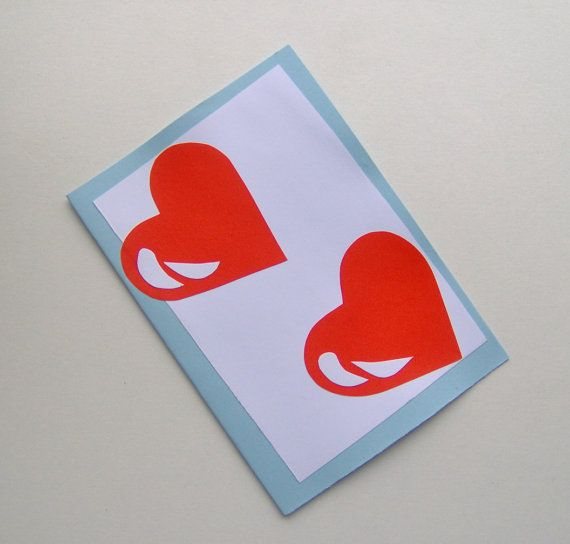 Love card Valentines Card Sexy for Woman For Man by HVasilevShop