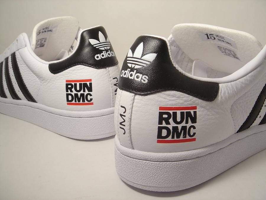 Run DMC adidas Superstar White FX7616