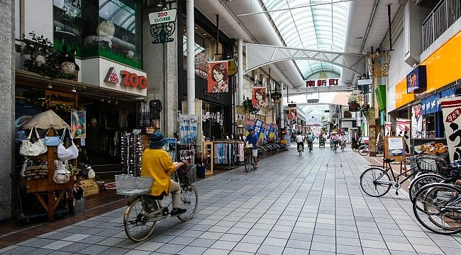 Takamatsu Shopping Arcade claimed to be Japan's longest