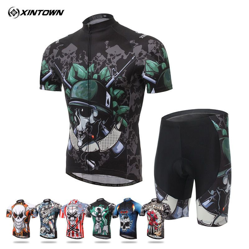 17a5a233c XINTOWN Pro Team Men Outdoor Sports Ropa CiclismoCycling Wear Short Sleeve  Bike Bicycle Shirt Jersey Shorts