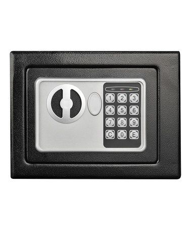Another great find on #zulily! Black Stalwart Electronic Deluxe Digital Steel Safe #zulilyfinds