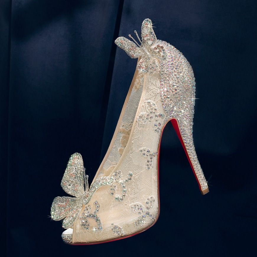 christian louboutin cinderella wedding shoes price