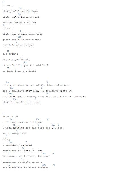 5 Chords Actually Someone Like You Good For Piano