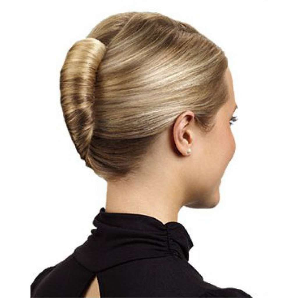Hairstyle Girl French Roll: Sleek French Twist. For The Ball?