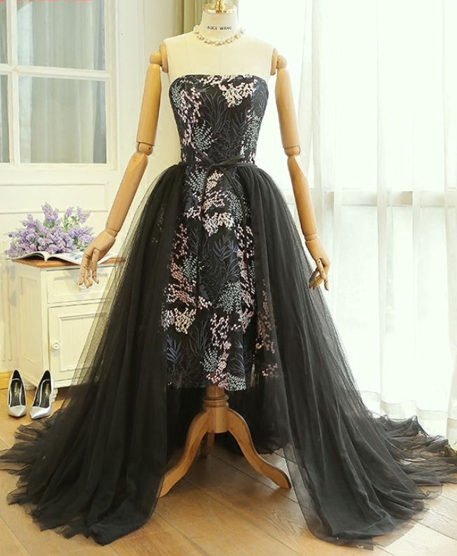 Detachable Skirt Prom Dresses Removable Skirt for Girls kleider ...