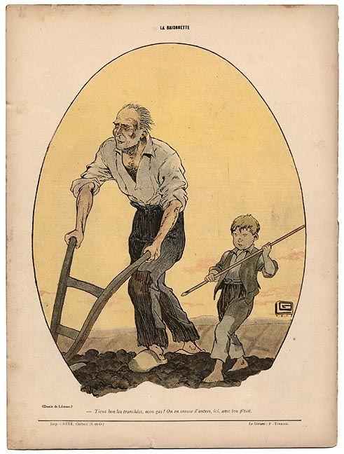 Georges Leonnec 1881 1940 Tiens Bon Les Tranchees Mon Gas