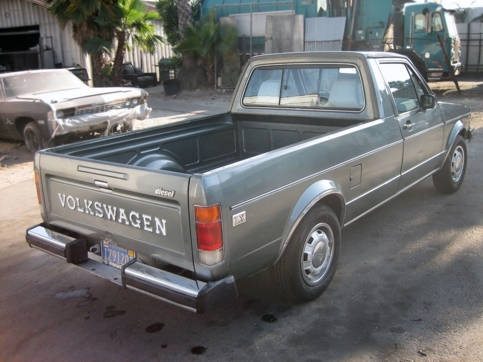 diesel power 1981 volkswagen rabbit pickup lx volkswagen and diesel. Black Bedroom Furniture Sets. Home Design Ideas