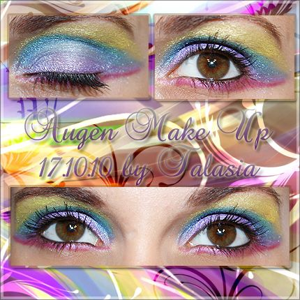 Eye Make Up - Datum: 17.10.10  http://talasia.blogspot.de/2010/10/amu-zoeva-multicolored.html
