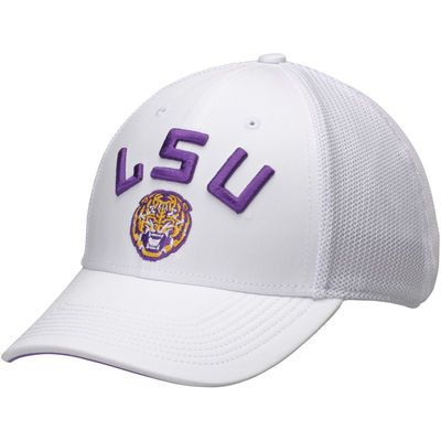 huge selection of 66f51 59454 LSU Tigers Nike Performance L91 Mesh Back Swoosh Flex Hat - White
