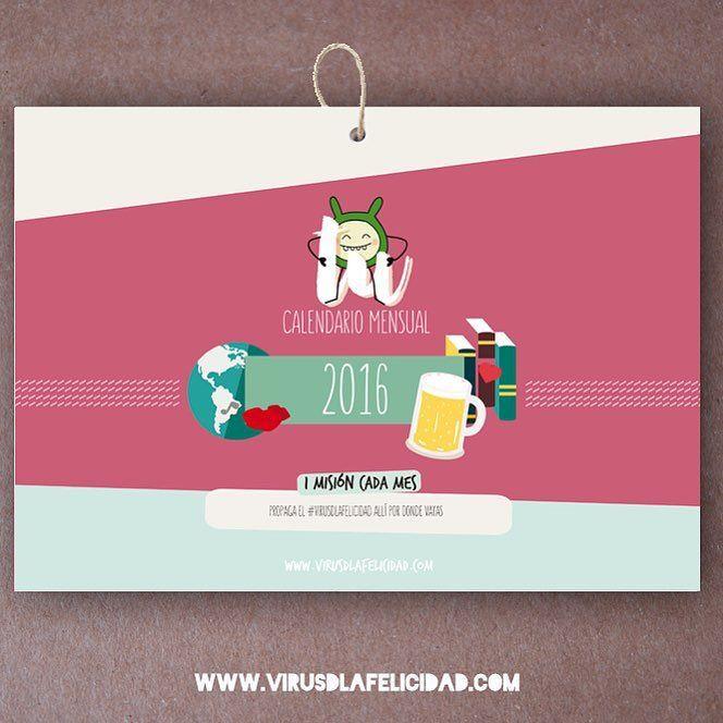 Ya disponibles los calendarios!! Para tener un 2016 lleno de misiones propagadoras y muuuucha felicidad   Consigue el tuyo ya mismo en http://ift.tt/1n71PmC  #virusdlafelicidad #calendario #yopropago #2016 #felicidad