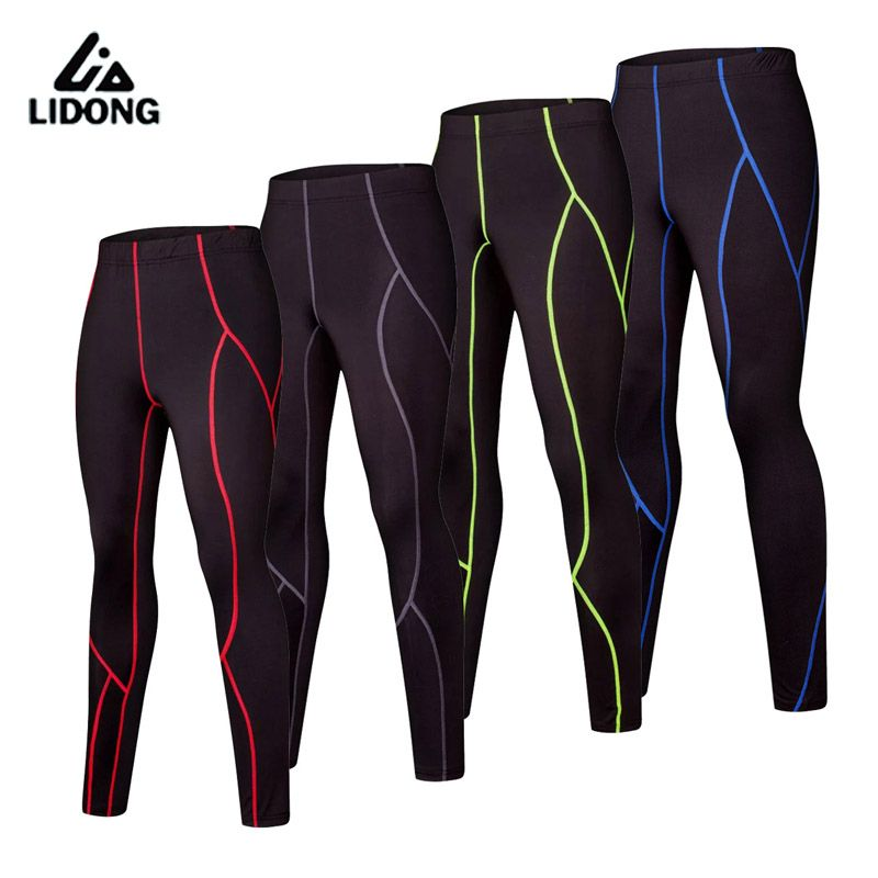 e87a497db6f42 2017 New Kids Running Compression Pants Sports Leggings Child Youth Boys  Basketball Football Training Trousers long Pant Tights