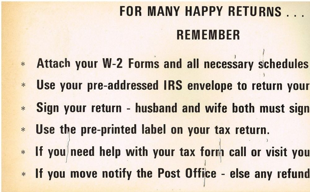 Irs tax return accounting poster cpa accountant ibm card