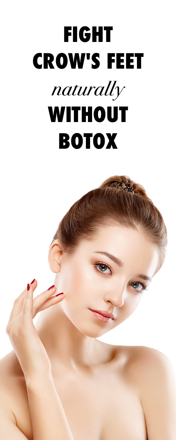Fight Crow's Feet Naturally without Botox