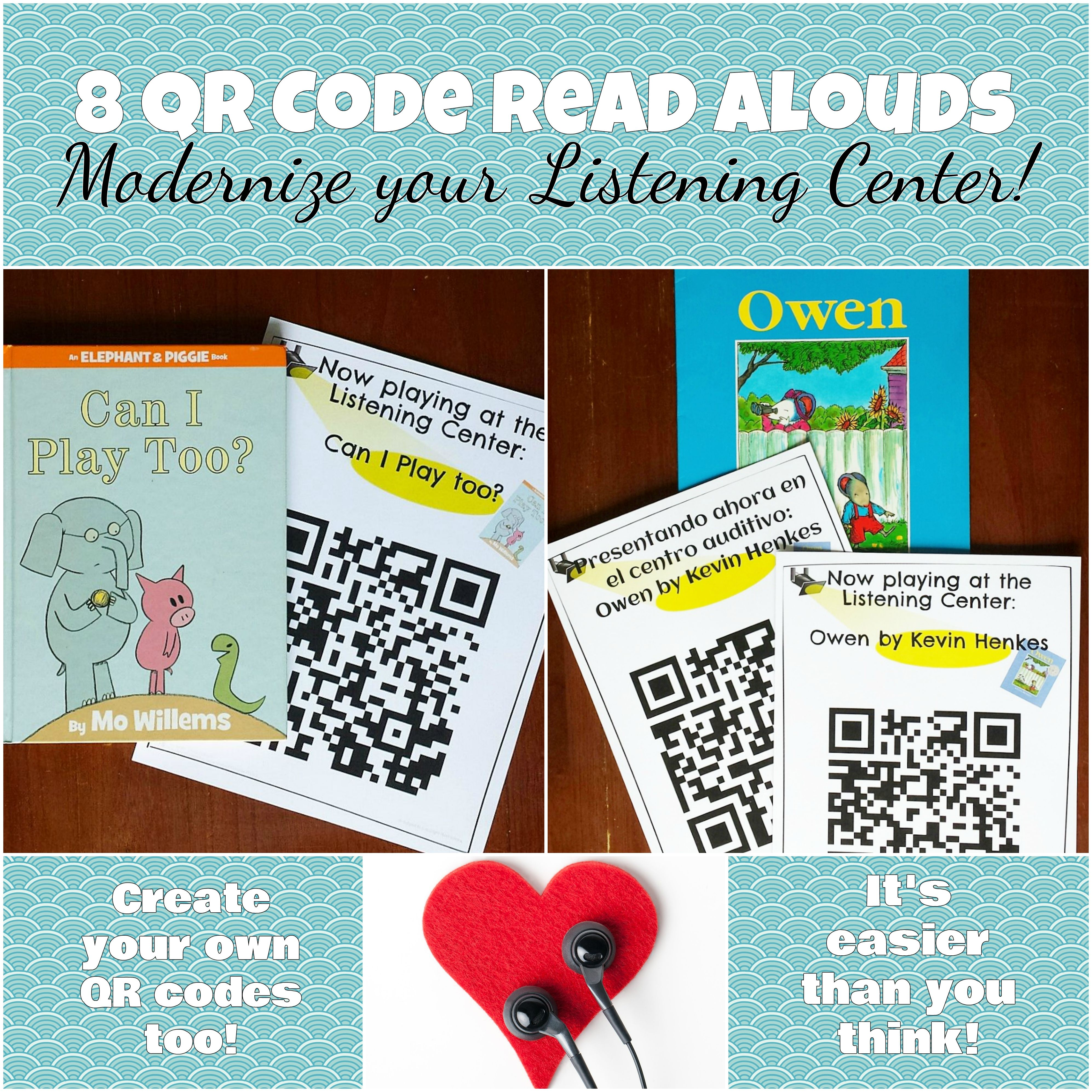 Modernize Your Listening Center With Qr Read Alouds Want