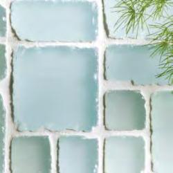 Random Pattern Frosted Mixed Mosaics Volta Display