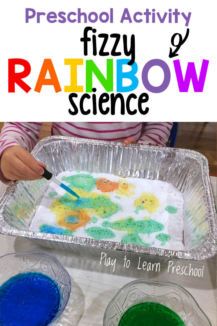 Fizzy Rainbow Science Activity For Preschoolers Science Experiments For Preschoolers Preschool Science Activities Science Projects For Preschoolers