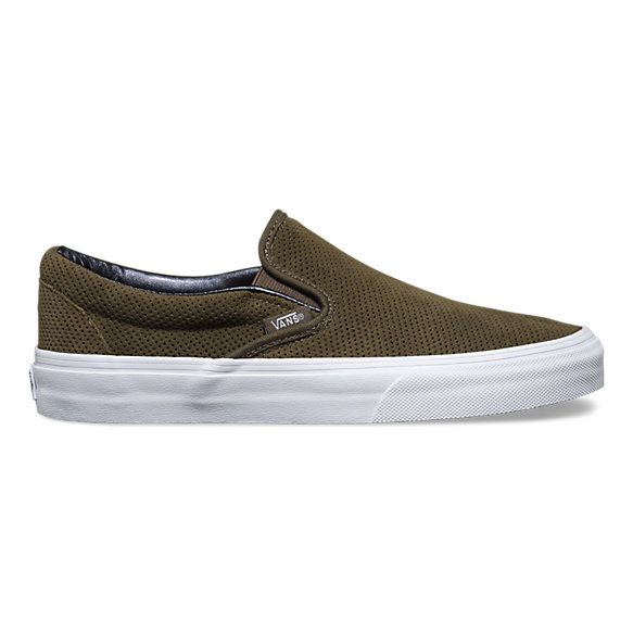 Perf Suede Slip-On | Shop Toddler Shoes At Vans