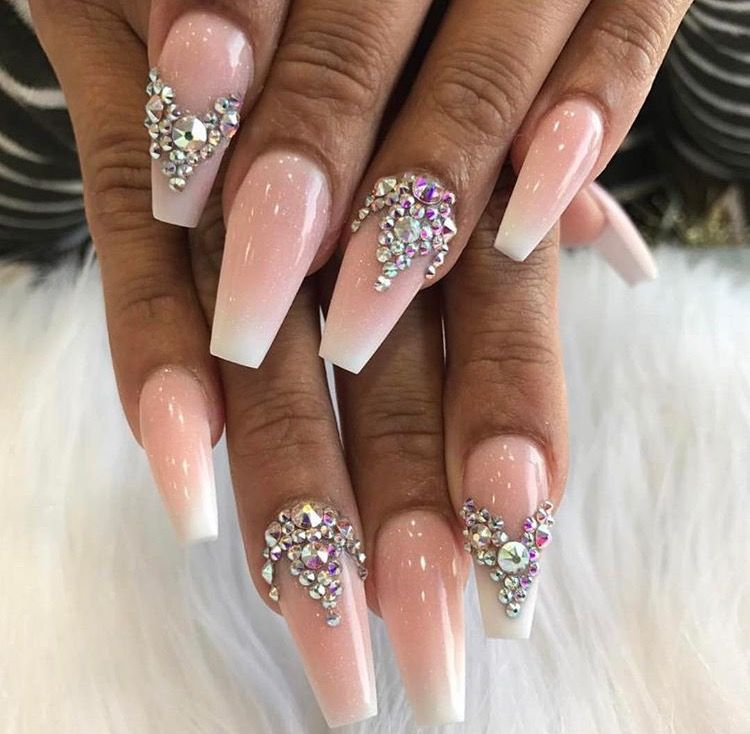 Pin by Katryna on Nails   Pinterest   Nail inspo and Nude nails