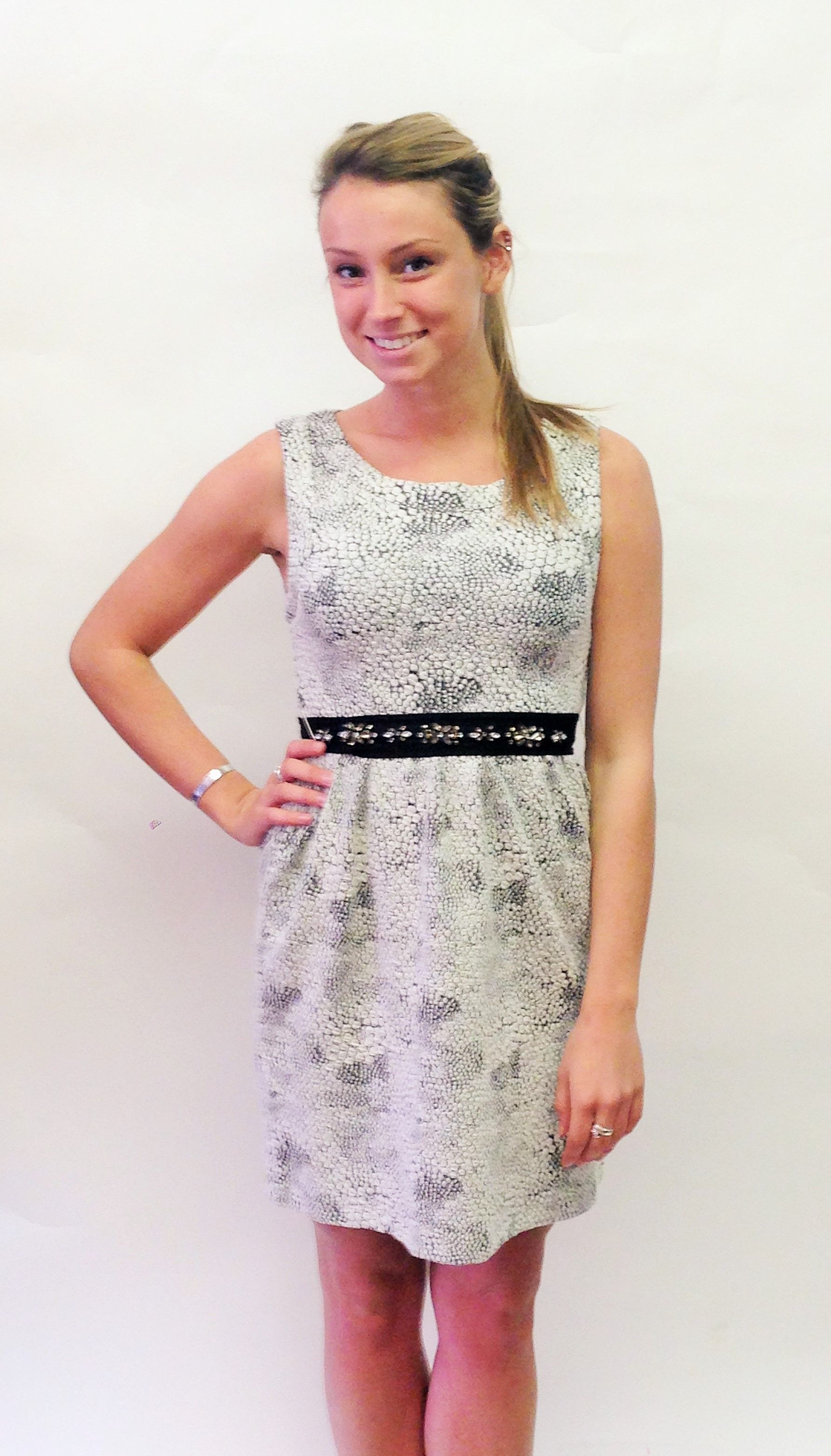 Holly Belted Dress Momentum Clothing Fall 2014