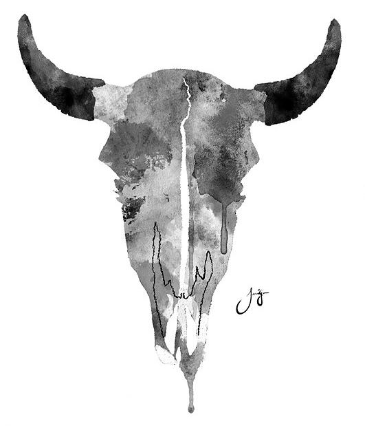 Cow Skull Print Uncovet Cow Skull Print Art Nguni Cows
