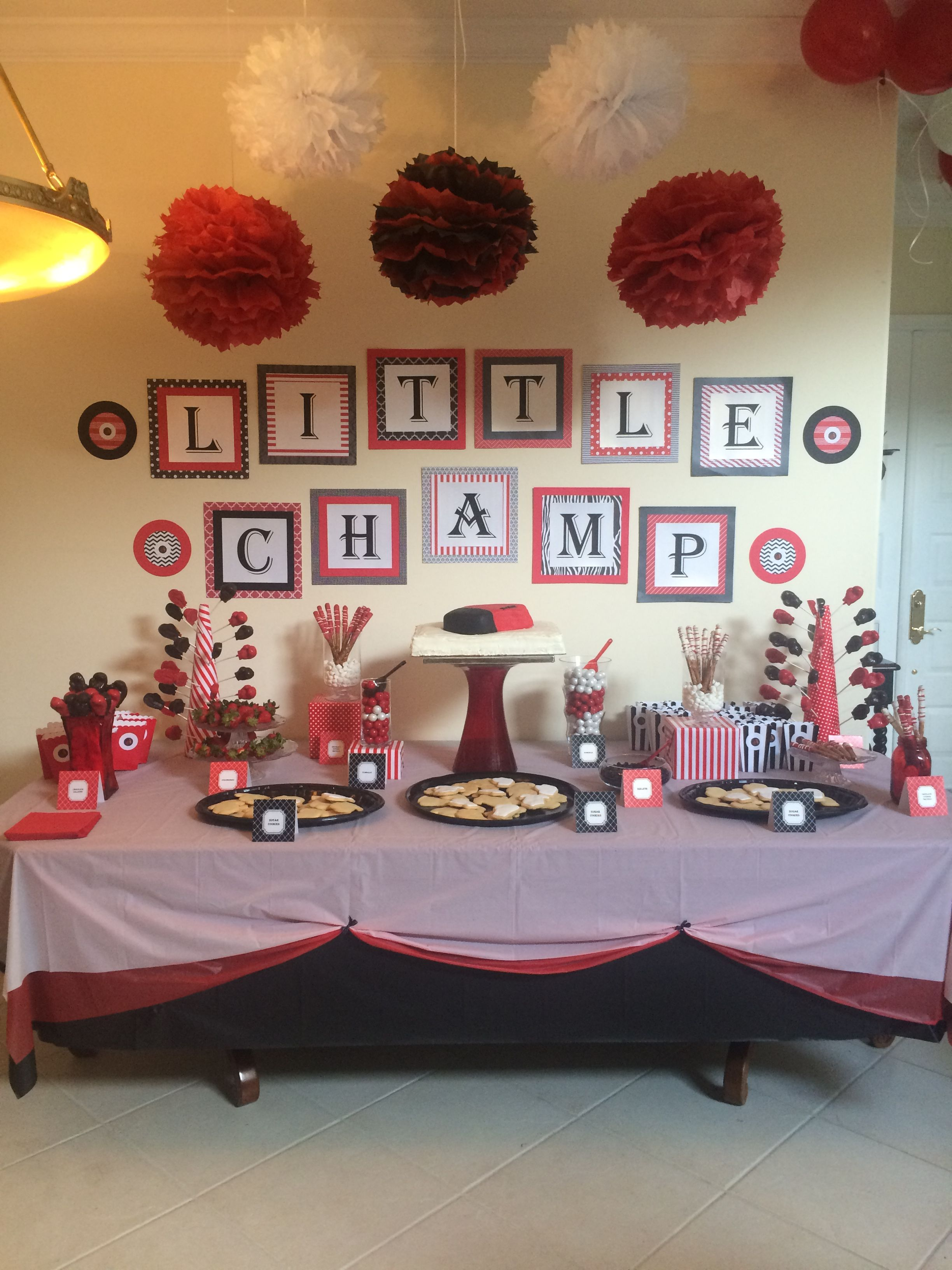 Pin by Elena Aidova on Baby Shower Boxing Boxing theme