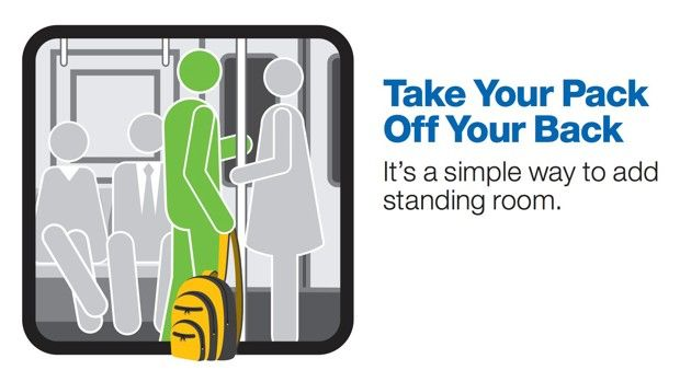 CTA Manners Campaign Aims to Reform Our Rude Ways - CityLab