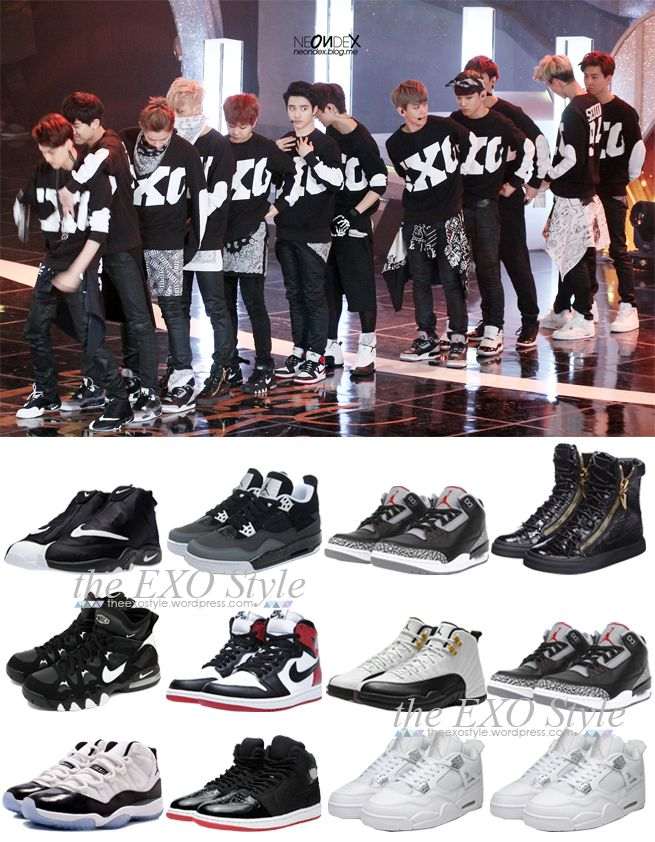 EXO Shoes whoa I liked Tao's shoes the best before I knew he wore them.