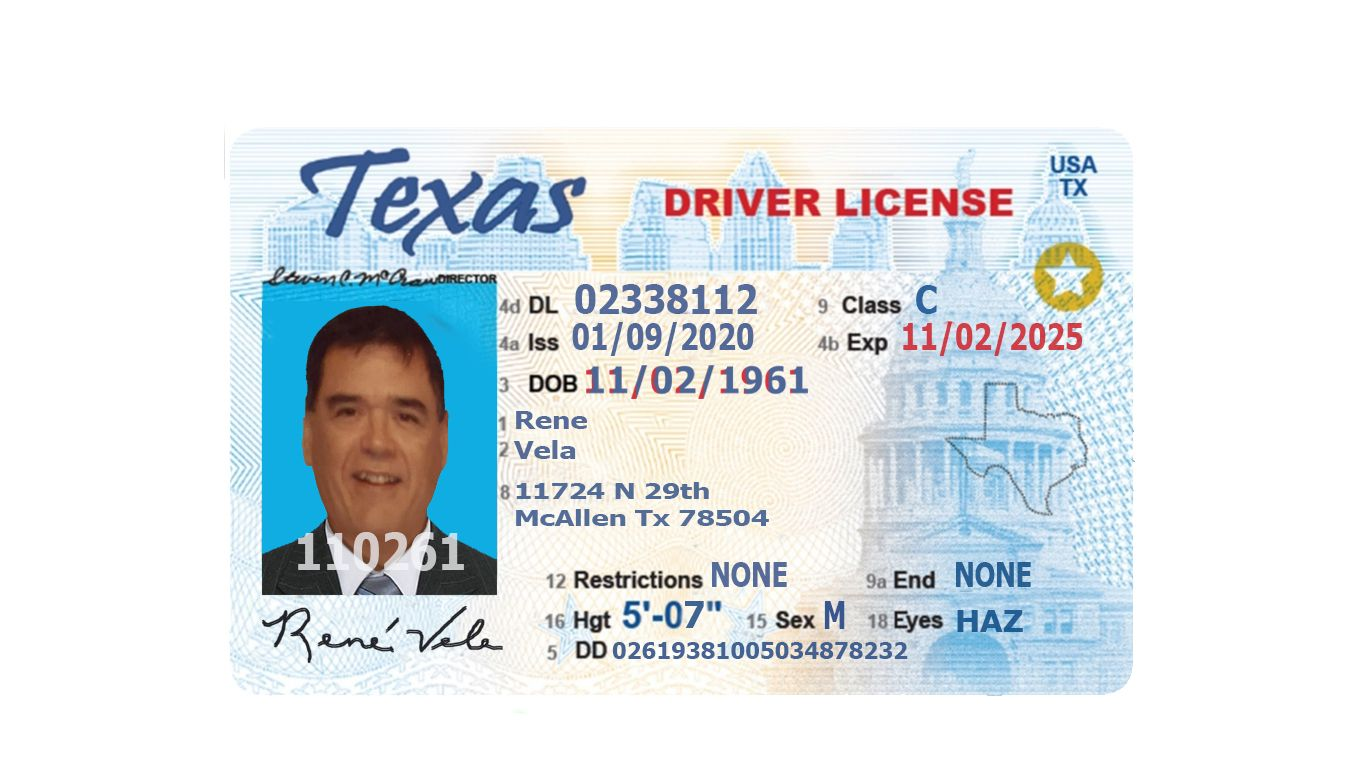 Buy Texas Drivers License In 2021 Drivers License Entry Stamp Biometrics Technology