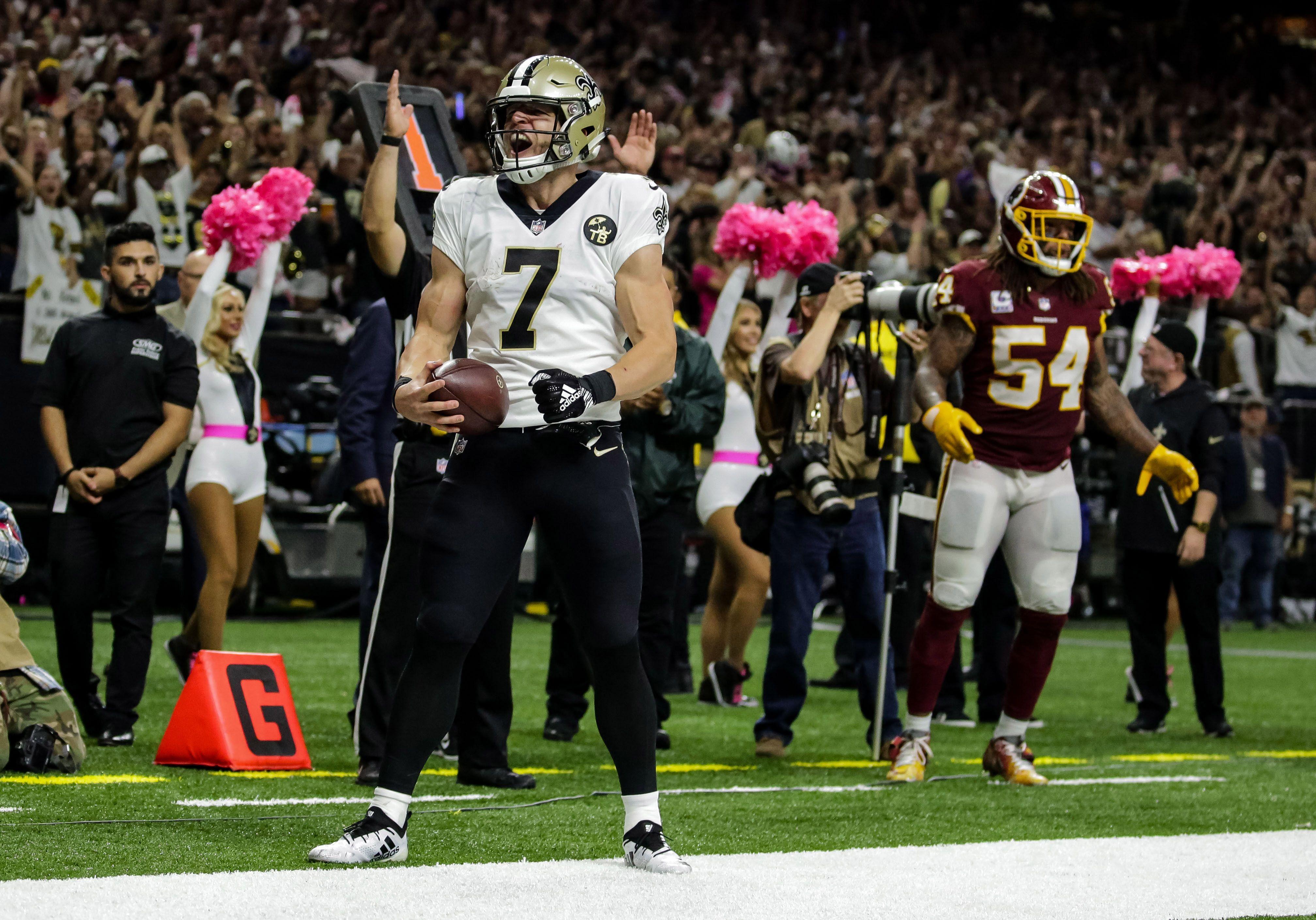 Meet Taysom Hill The New Orleans Saints Not So Secret Secret Weapon New Orleans Saints New Orleans Saints