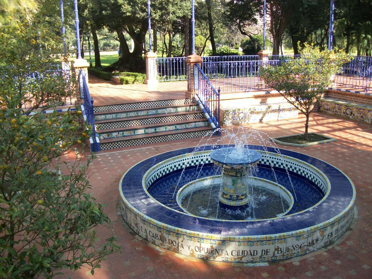 Fuente patio andaluz rosedal buenos aires argentina - Fuentes de patio ...