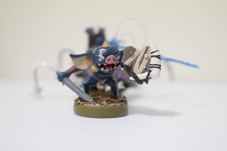 Bokoblin Custom Amiibo Breath Of The Wild By Thegamechangers1 On