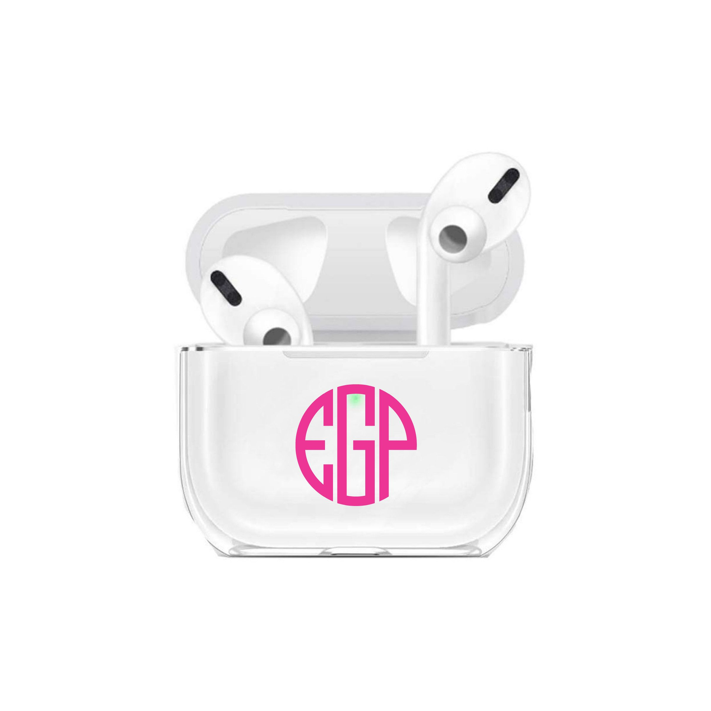 Monogram Air Pods Pro Case Name And Letter Airpods Pro Case