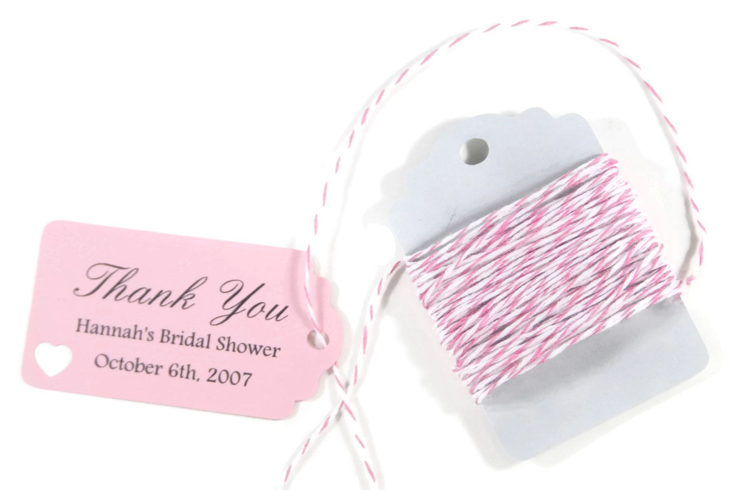 Small Light Pink Bridal Shower Favors Set of 20 - Mini Personalized ...