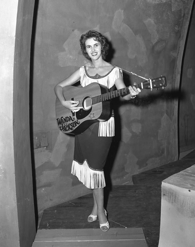 Wanda jackson on august 5 1955 at the overton park shell for Wanda jackson