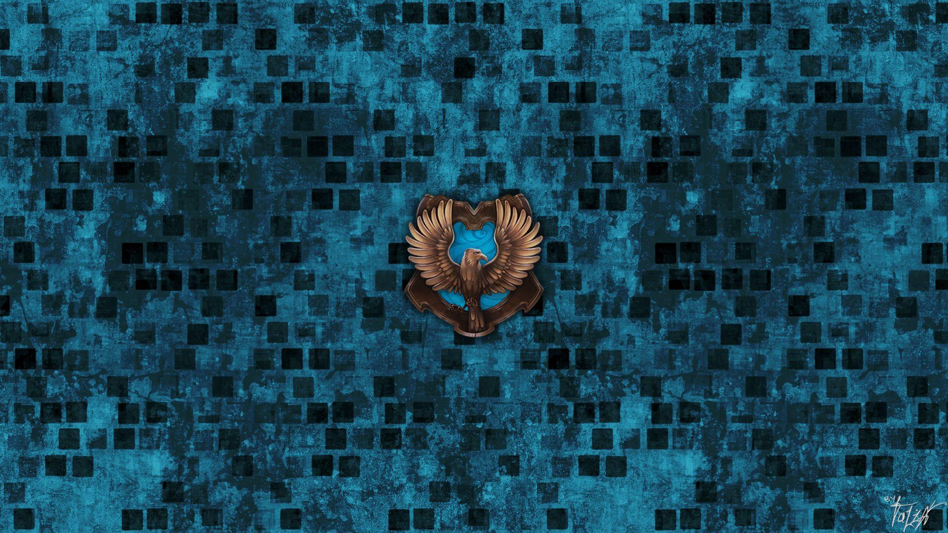 Ravenclaw brick background Ravenclaw Fink