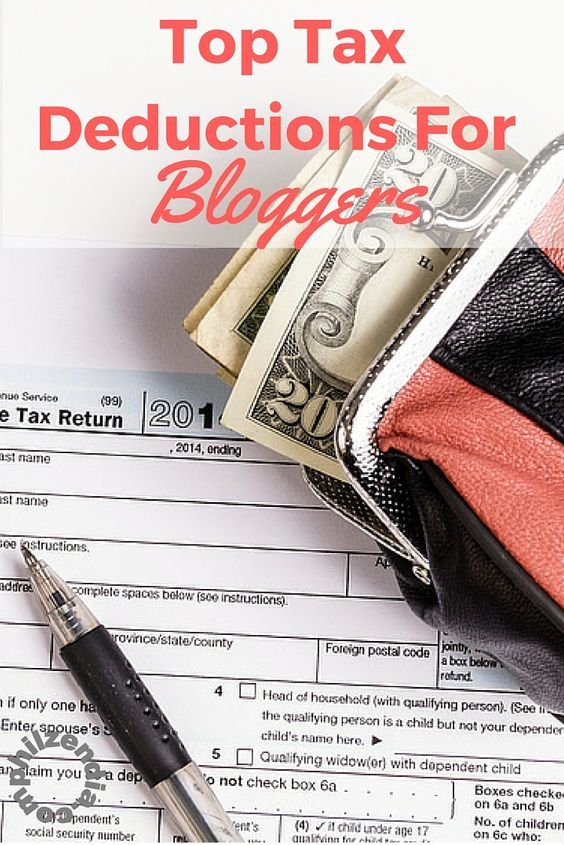 Get your taxes done right and maximize your refunds with these tax deductions for bloggers.