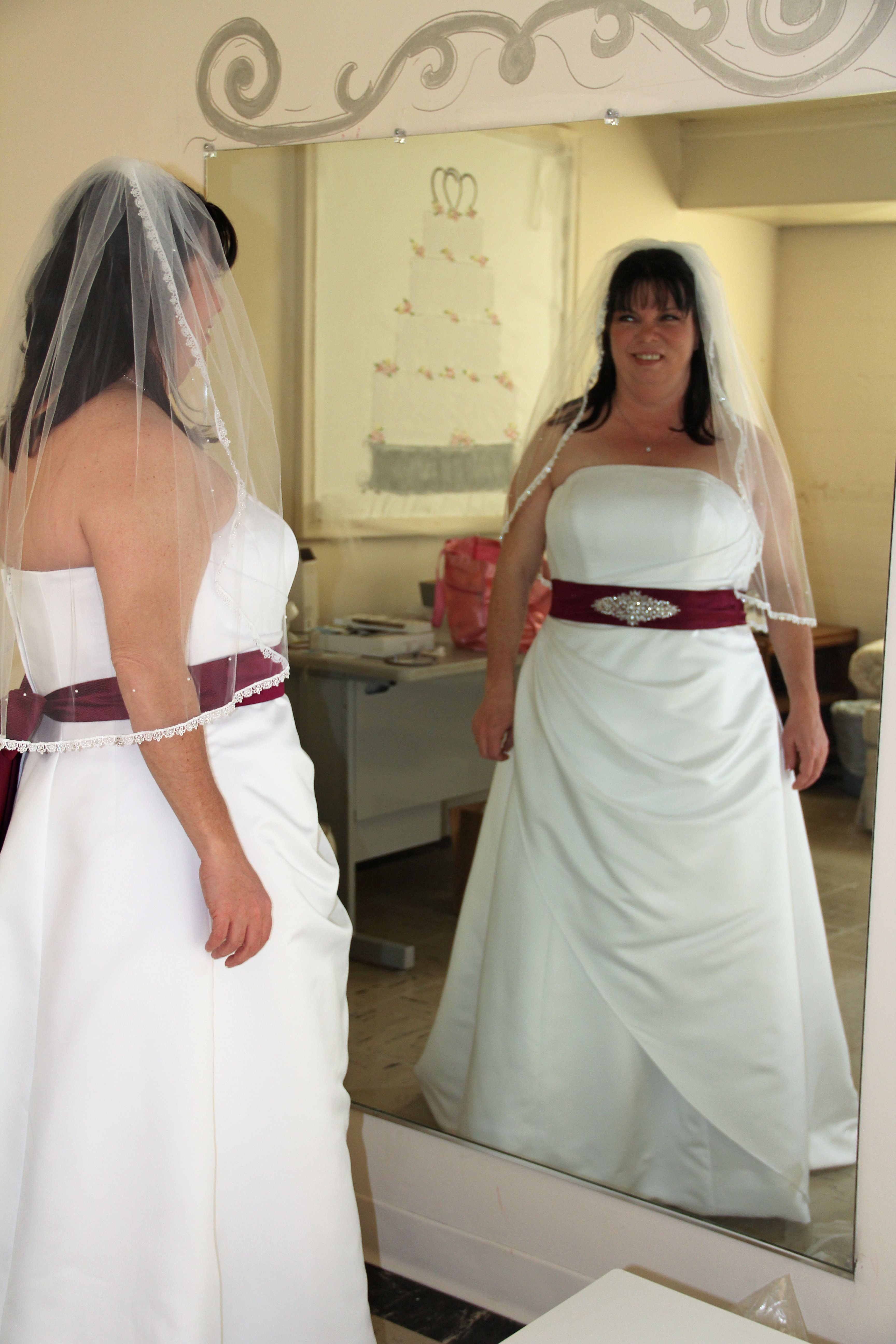 My Wedding Dress:)
