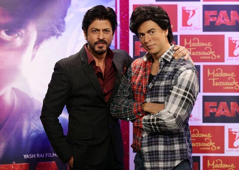 Image result for shahrukh khan wax statue