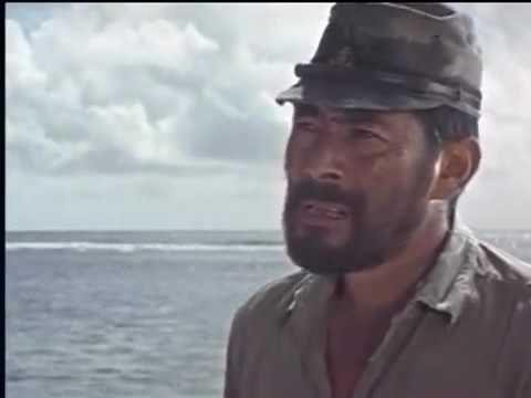 INFERNO NO PACÍFICO 1968   filme aventura completo dublado com Lee Marvi...