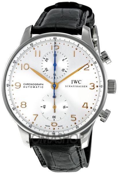 IWC Portuguese Silver Dial Chronograph - Bereitgestellt von http://stores.ebay.de/jkkonfektion dem eBay-Shop für wirklich individuelle Anzüge.. | juwelier-haeger.de