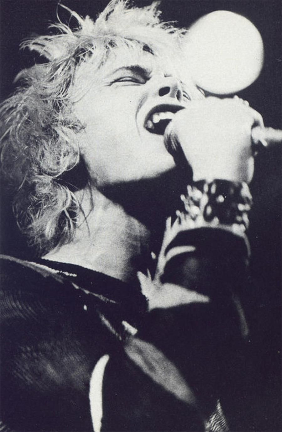 Generation X Billy Idol, Feeling Magazine, 1978