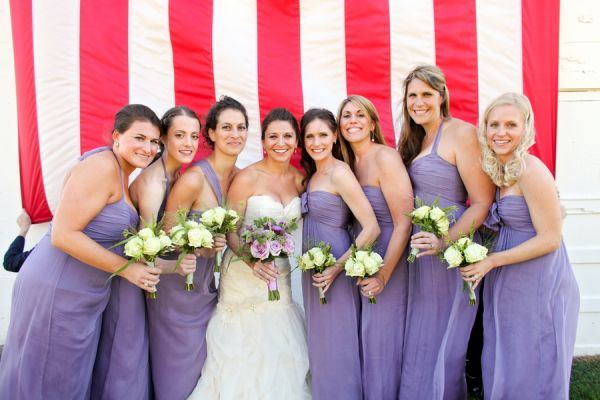 Lilac Bridesmaids Dresses | photography by http://www.peppernix.com