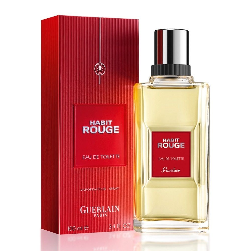 Habit Rouge Guerlain 3 4 Edt Sp Perfume Perfume Store Perfume And Cologne
