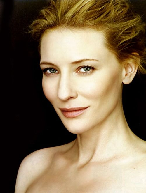 Cate Blanchett-she's amazingly talented and beautiful