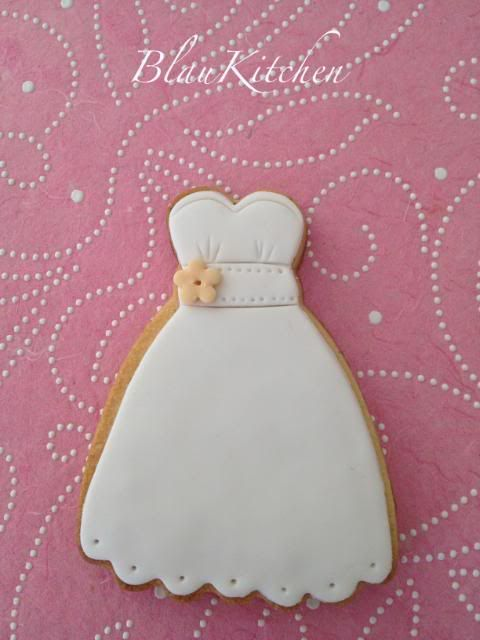 wedding dress cookie~blaukitchen, white | xv años neon | wedding