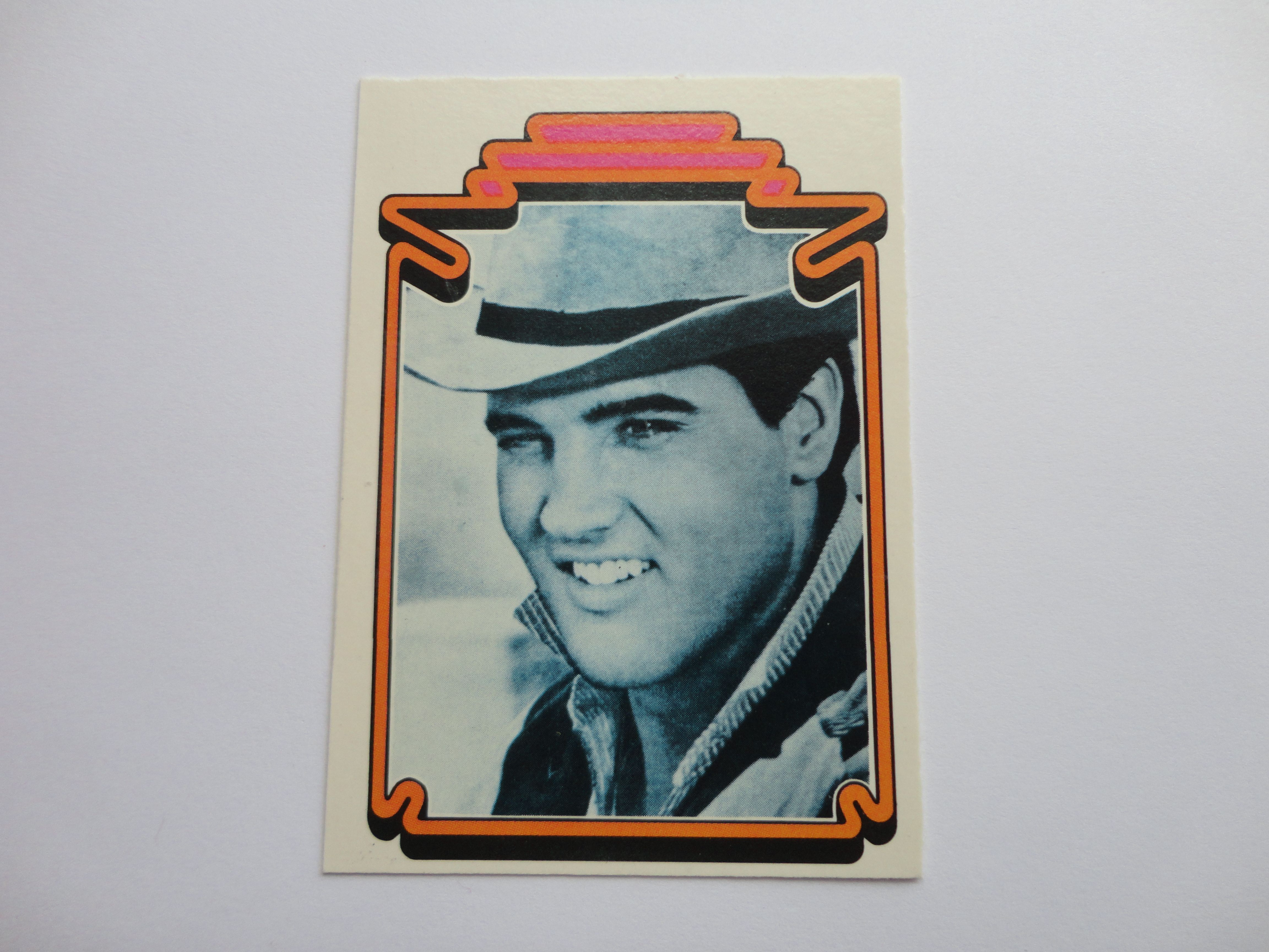 #31 of 66 Elvis Presley Facts Card Collection