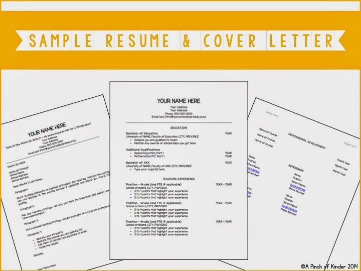 22++ Ontario elementary teacher resume sample inspirations