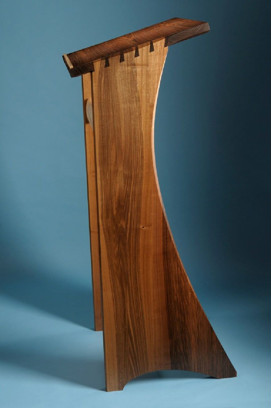 how to build a church podium