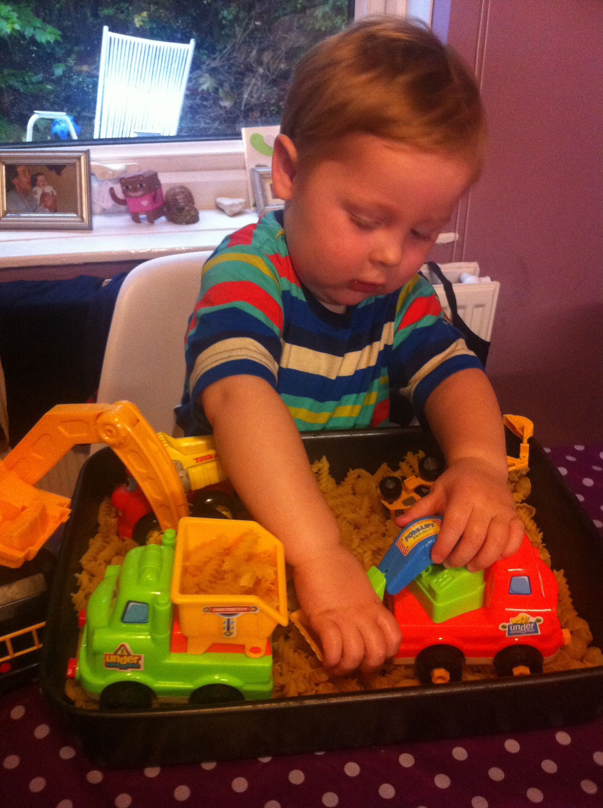Perfect Rainy Day Activity For Preschool Digger Fans
