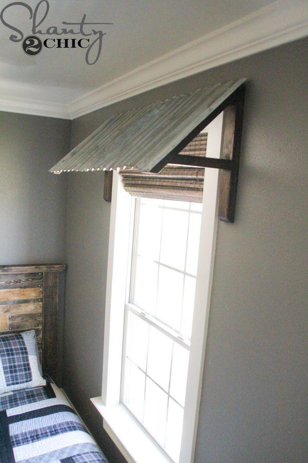 diy corrugated metal awning metal awning sons and window